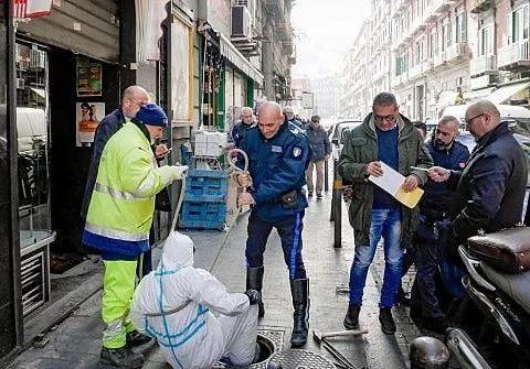 Guardia giurata Cosmopol sventa rapina a Napoli