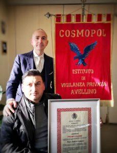 Aversa Guardia Giurata della Cosmopol sventa rapina